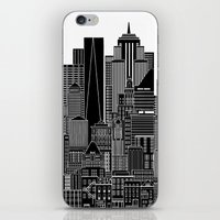 nyc iPhone & iPod Skins featuring NYC  by Robert Farkas