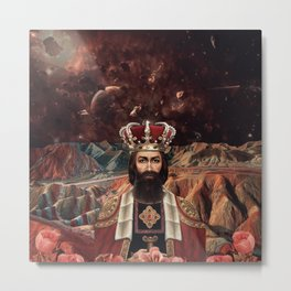 THE KING Metal Print