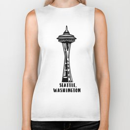 Seattle, Washington's Space Needle Biker Tank