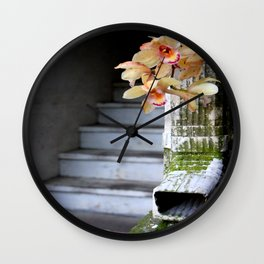 Delight From Up Above Wall Clock