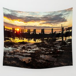 Sunrise over Brooklyn Wall Tapestry