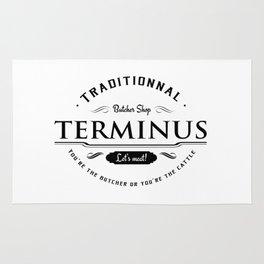 Walking dead Terminus butcher Rug