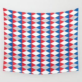 Abstract Diamond Pattern Wall Tapestry