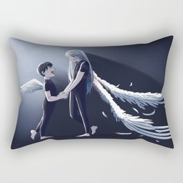 Broken Wings Rectangular Pillow