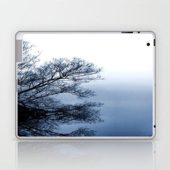 Swans in the Mist Laptop & iPad Skin