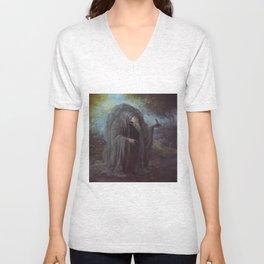 Saint Franciskull Unisex V-Neck