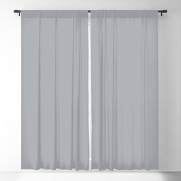 Eye Contact ~ Light Gray Feathers Blackout Curtain
