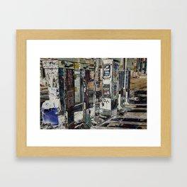 payphones Framed Art Print