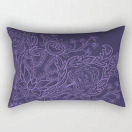 Spring Garden Mandala Ultra Rectangular Pillow