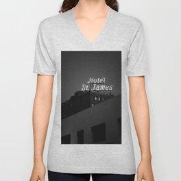 The Historic Hotel St. James Unisex V-Neck