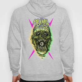 Primal Screaming Skull Hoody