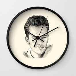 Luke Perry–Dylan McKay Wall Clock