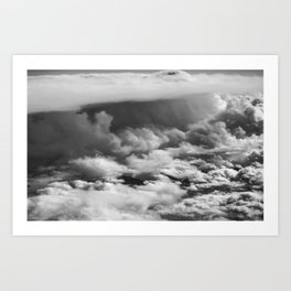 Wave of Clouds Art Print