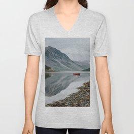 Norway I - Landscape and Nature Photography Unisex V-Neck