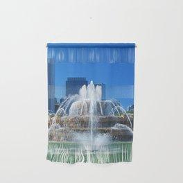 Buckingham fountain Wall Hanging