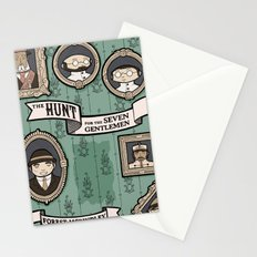 The Hunt for the Seven Gentlemen Stationery Cards