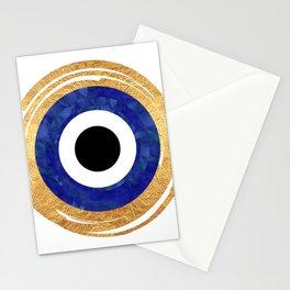 Modern Evil Eye Medallion Stationery Cards