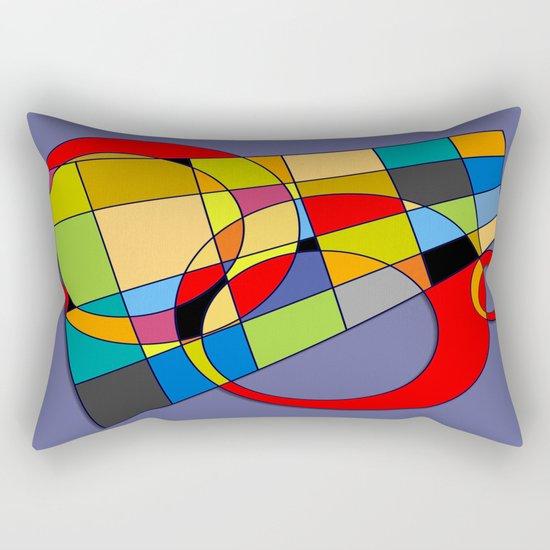 Abstract #52 Rectangular Pillow