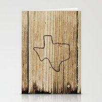 texas Stationery Cards featuring Texas by Travis Weerts
