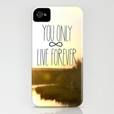 You Only Live Forever iPhone (4, 4s) Slim Case