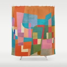 Burton Wasserman in Copacabana Shower Curtain