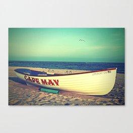 Cape May Lifeboat Canvas Print