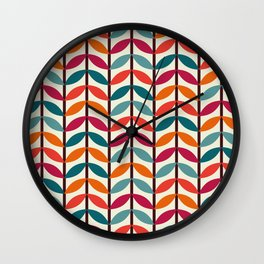 Optical Overlap #1 Wall Clock