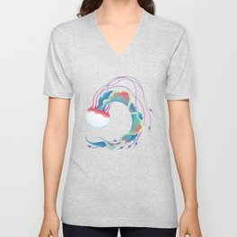 Jellyfish 3 Unisex V-Neck