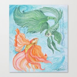 Betta Dance Canvas Print
