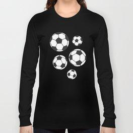 Soccer Balls Long Sleeve T-shirt
