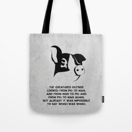 George Orwell - Animal Farm Tote Bag