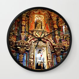 San Xavier 1 Wall Clock