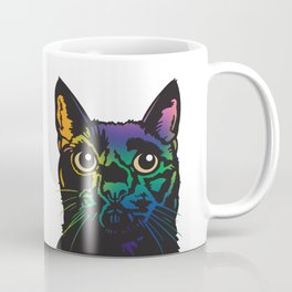 Rainbow Cat Coffee Mug