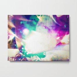 """Starship: Remixed"" Metal Print"