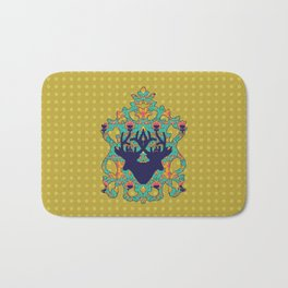 Polka Lotus : Antilope Bath Mat