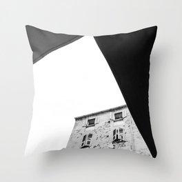 alghero buildings Throw Pillow
