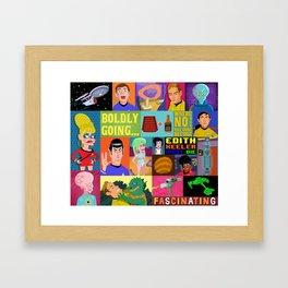 Star Trek Collection Framed Art Print