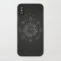 Moon, sun and elements Slim Case iPhone X