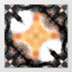 Water Rust Pattern 003 Canvas Print