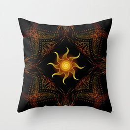 sun energy. part one Throw Pillow