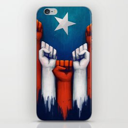 Puerto Rico power of the people iPhone Skin