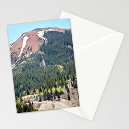 The Famous, Rich Yankee Girl Mine Beneath the Red Mountains Stationery Cards