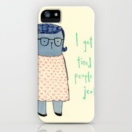 Jerks iPhone Case