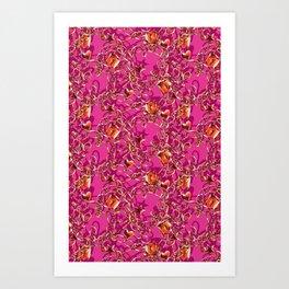 Glam Tack Art Print