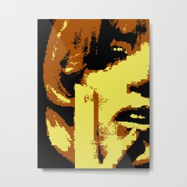 I Hate You (C64 remix) (2011) Metal Print