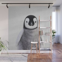 Baby Penguin - Colorful Wall Mural