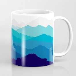 Blue Mist Mountains Coffee Mug