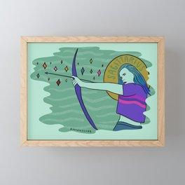 Sagittarius Framed Mini Art Print