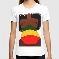 rasta T-shirts featuring Rasta Beauty by Courtney Ladybug Johnson