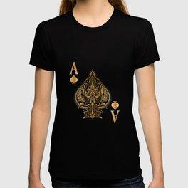 Spades Poker Ace Casino T-shirt